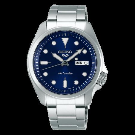 Seiko 5 Sports 40 mm Automatic Blue & Steel Bracelet SRPE53K1