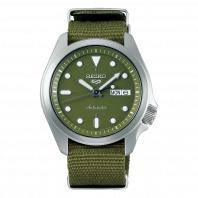 Seiko 5 Sports 40 mm Automatic Green & Nato band SRPE65K1