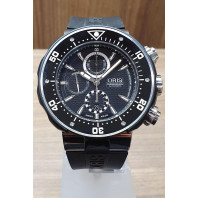 PRE-OWNED Oris ProDiver Chronograph 51mm Black 01 674 7630 7154