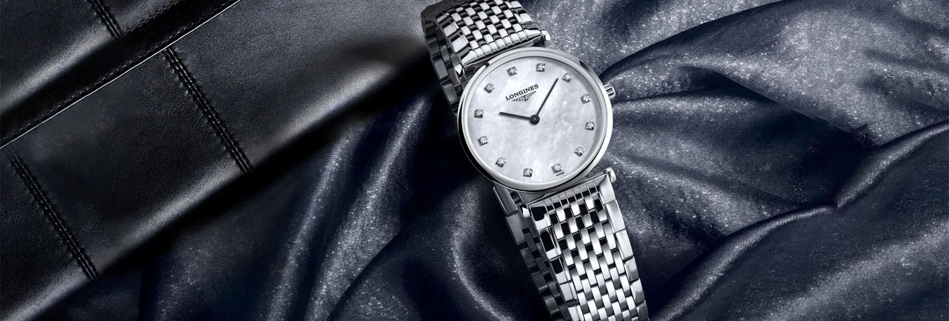 Diamonds set watch