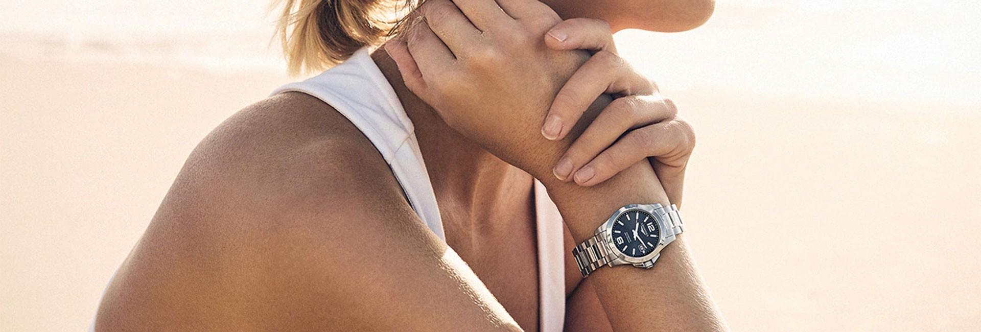 Sporty lady's watch